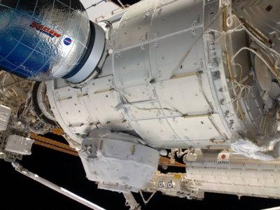 La NASA ha conseguido ampliar el espacio de la Estación Espacial Internacional con un módulo inflable