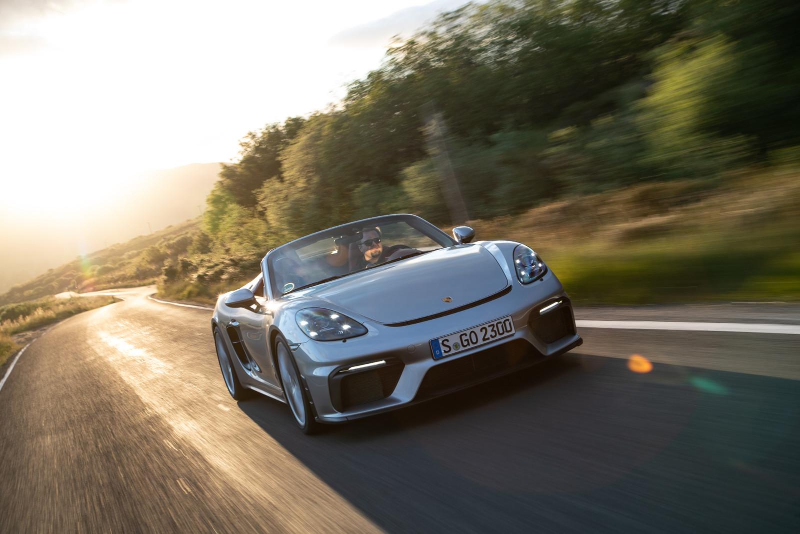 Foto de Porsche 718 Spyder (prueba contacto) (201/296)