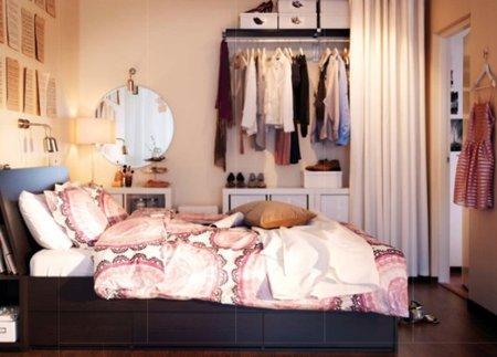 Un dormitorio de Ikea 2012