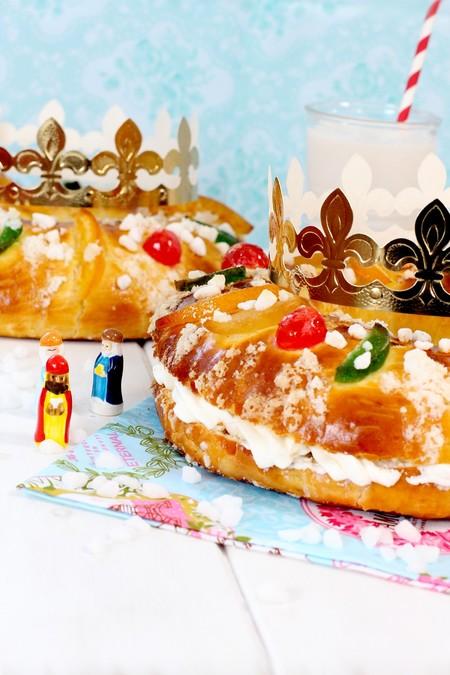 Receta De Roscon De Reyes Casero Receta De Navidad 1 Min