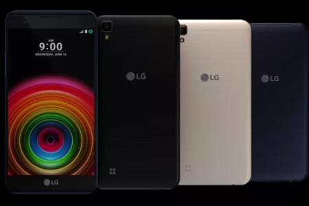 Así son los cuatro nuevos smartphones de la línea X de LG