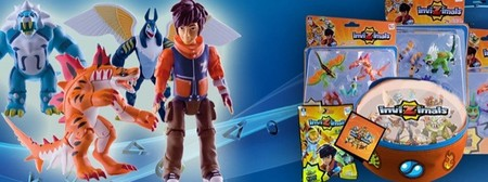 Los Invizimals presentan nuevas figuras con muchos personajes y con realidad aumentada