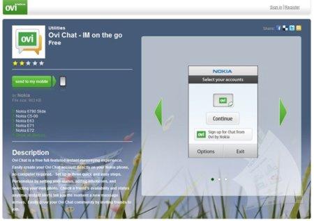 Nokia prepara un cambio de look para Ovi Store en su versión web