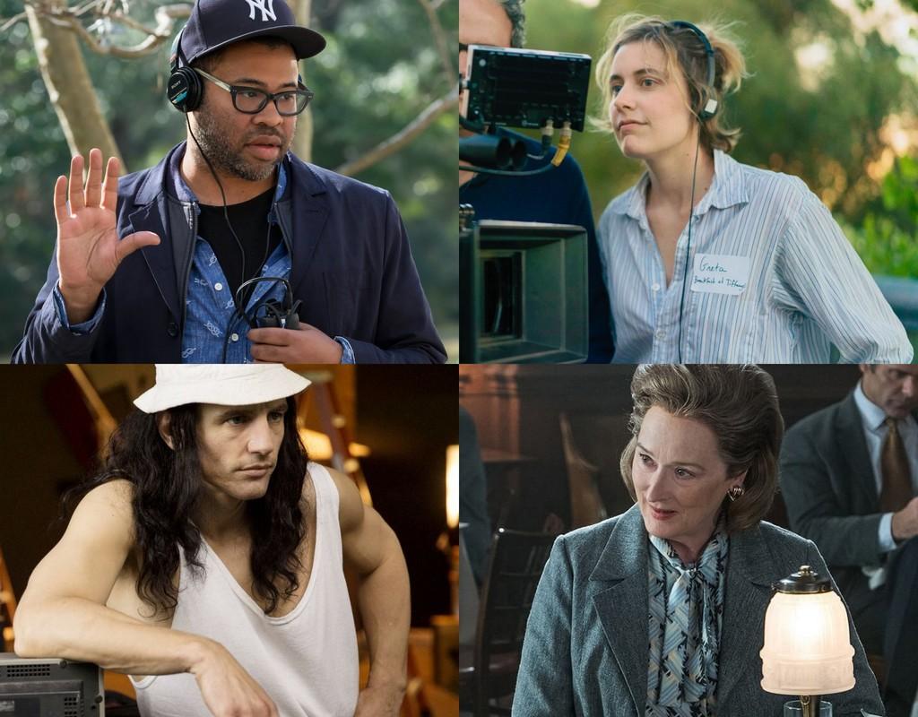 Peele, Gerwig, Franco y Streep