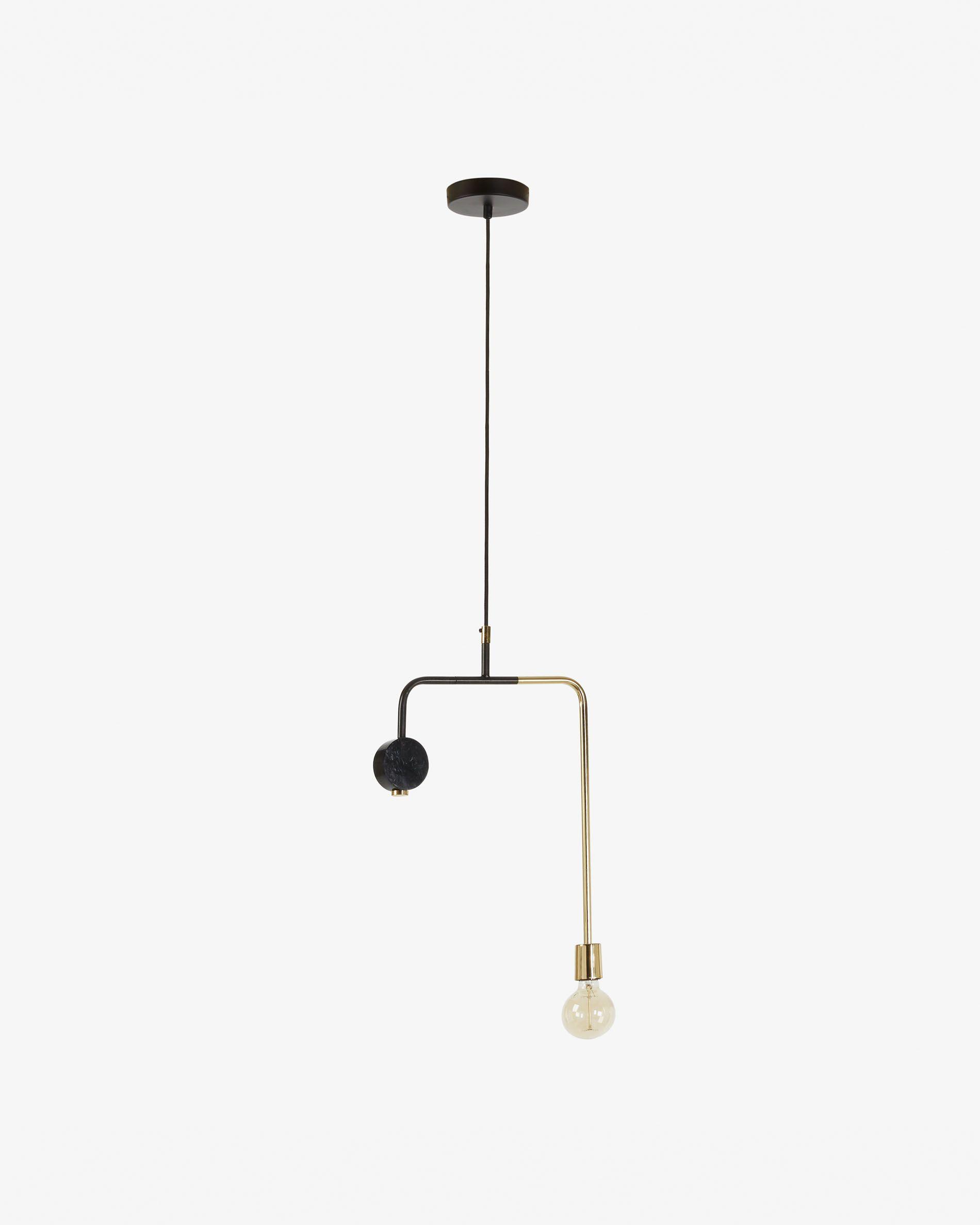 Lámpara de techo de diseño geométrico