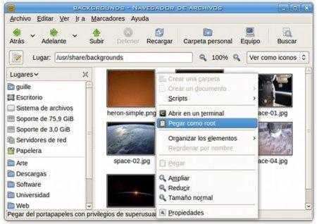 Genbeta Responde: cómo pegar archivos con permisos de superusuario en Nautilus