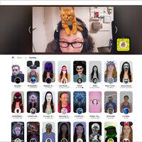 Así puedes usar los filtros de Snapchat en tu PC para hacer tus videoconferencias más divertidas o fingir una mala conexión