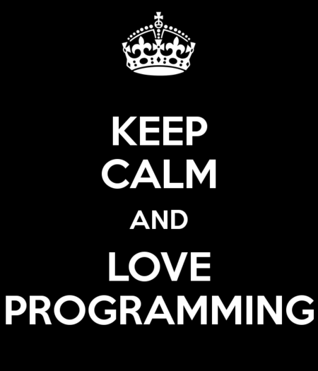 Keep Calm Programming