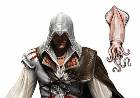 'Assassin's Creed II', el calamar gigante secreto