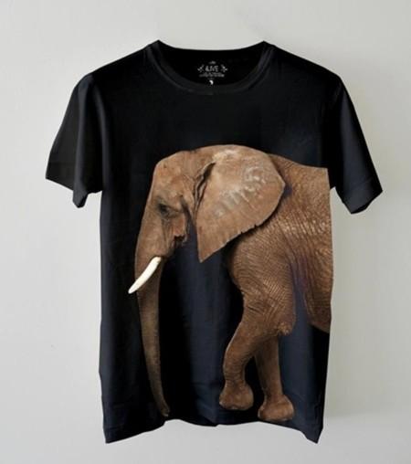 Camisetas en defensa de los elefantes