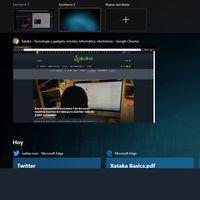 Cómo integrar Chrome en la Vista de tareas o Timeline de Windows 10