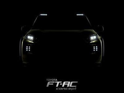 Toyota nos muestra la primera imagen del FT-AC que presentará en Los Ángeles