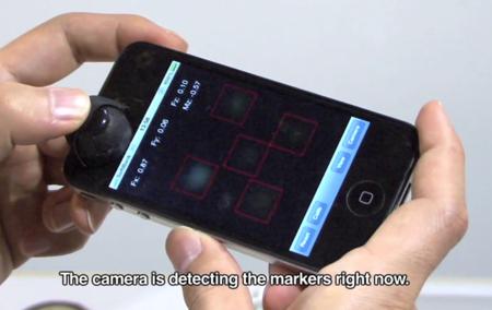 Un Joystick que utiliza la cámara frontal del iPhone para funcionar