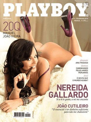 Nereida Gallardo ahora también en Playboy