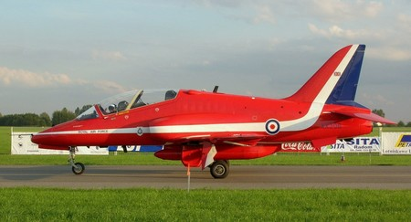 Red Arrows Bae Hawk Radom Airshow 2005