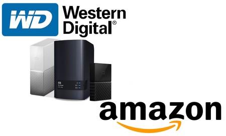¿Necesitas un disco duro externo de sobremesa o portable o un NAS? Estas ofertas de Amazon en almacenamiento Western Digital te pueden interesar