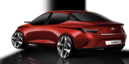 Hyundai Aura Sketch 2