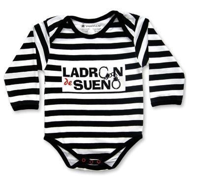 Body para bebés ladrones... de sueño