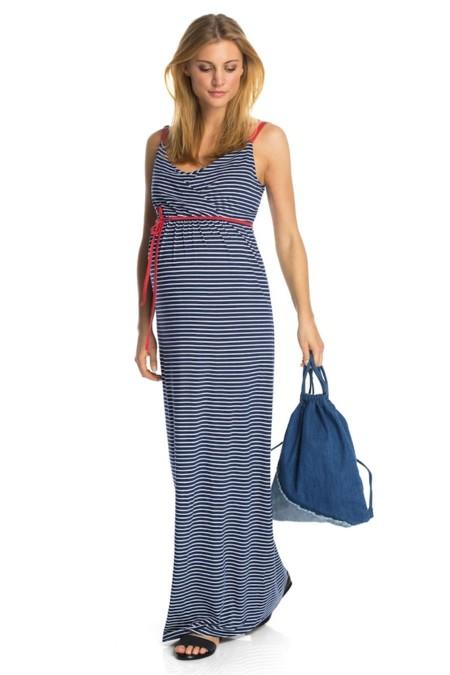 465fa15a8903 Maxi vestidos premamá para disfrutar del verano