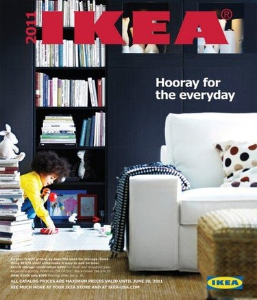 Ya ha salido en EEUU el avance del catálogo Ikea 2011