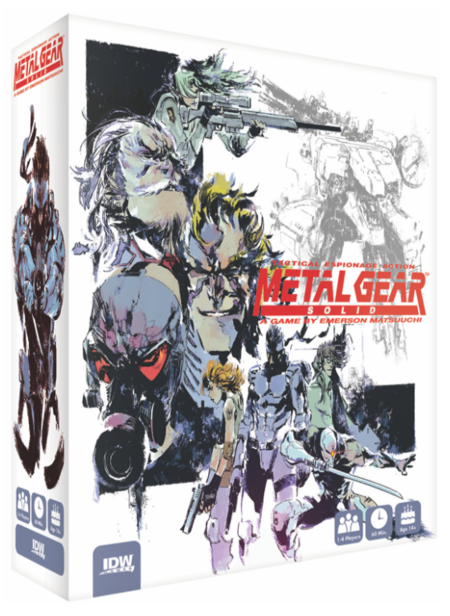 Metal Gear Solid Board Game