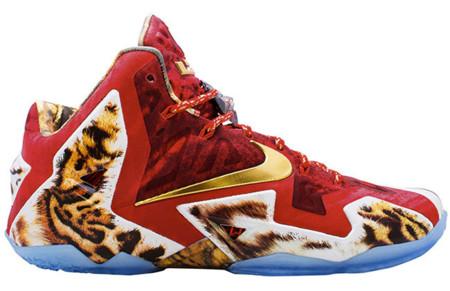 Las nuevas zapas Nike de LeBron James serán muy exclusivas