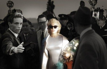 Os presento a Marilyn Monroe... digo Michelle Williams