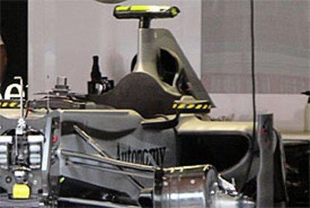 GP de España 2010: Mercedes GP desvela una revolucionaria tapa de motor