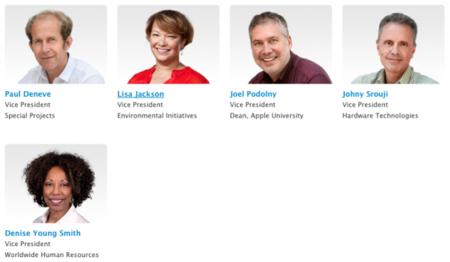 Imagen de la semana: la familia de directivos de Apple es más grande de lo que crees