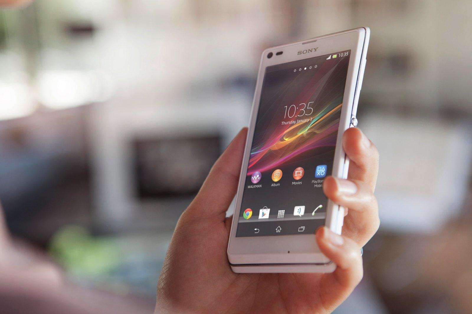 Foto de Sony Xperia L, imágenes oficiales (12/12)