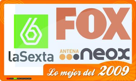 laSexta, Antena.Neox y Fox, mejores cadenas del 2009