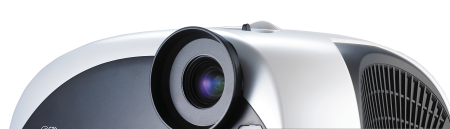 Proyector DLP con DVD incorporado y compatible con HDTV