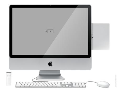 Patente de Apple para un dock estilo iMac para el portátil