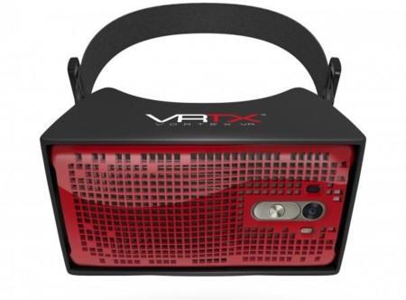 Vortex VR propone un casco de realidad virtual a partir de un LG G3