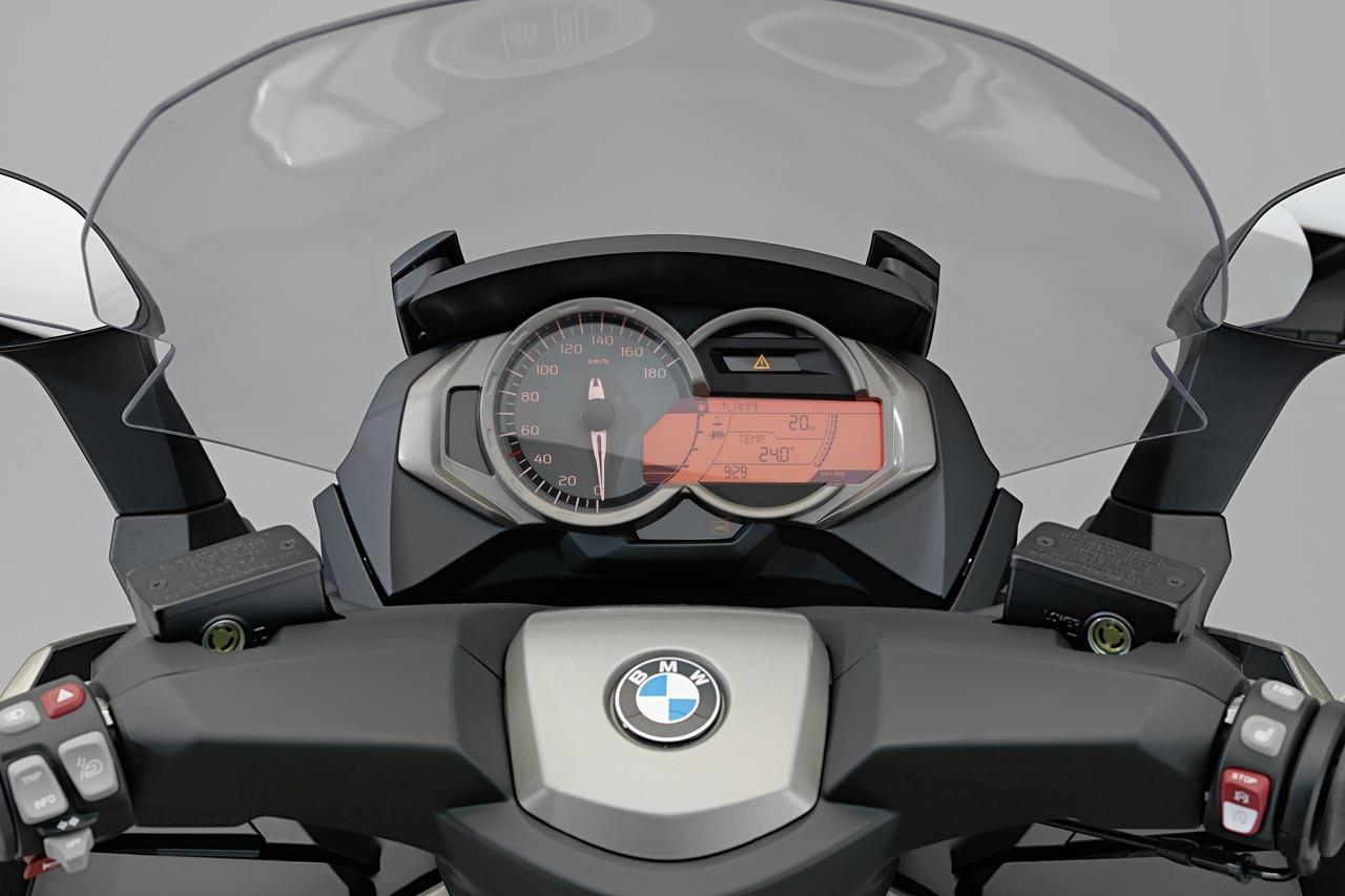 BMW C 650 GT y BMW C 600 Sport, detalles