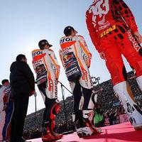 Marc Márquez y Dani Pedrosa, protagonistas en la fiesta de fin de curso de Honda