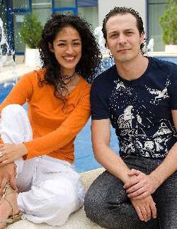 Fele Martínez y Lorena Vindel