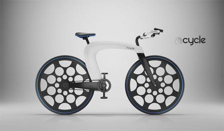 nCycle: un interesante concepto de bicicleta eléctrica plegable