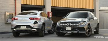 Cuánto dinero ahorras realmente con un híbrido enchufable: comparativa con dos Mercedes-Benz GLC Coupé