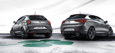 Alfa MiTo Quadrifoglio Verde y Giulietta Quadrifoglio Verde 2014