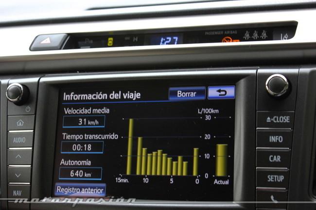 Toyota RAV4 2013, consumo medio