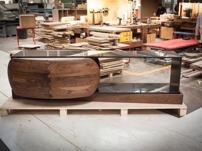 Madera Meets Dekton, innovación combinada con artesanía presentada por Cosentino en Milán