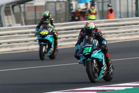 Morbidelli Rossi Catar Motogp 2021