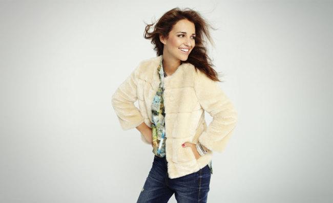 Paula Echevarría para Blanco Otoño-Invierno 2012/2013