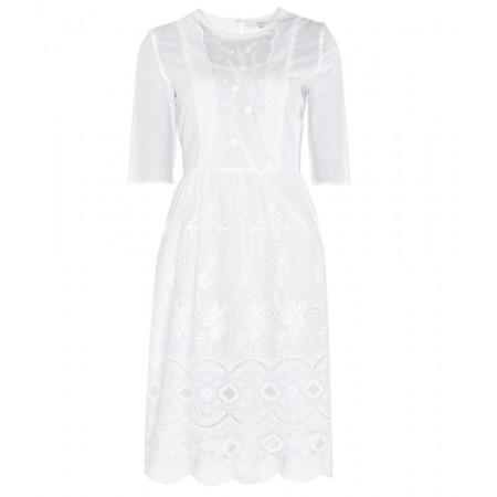 vestido bordado inglés