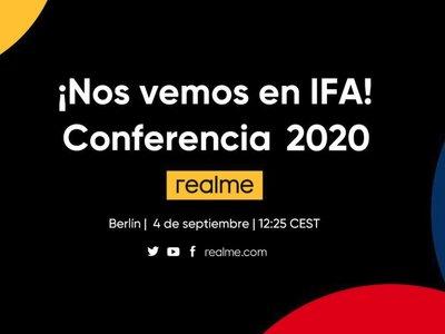 Realme en IFA 2020: presentación oficial en directo y en vídeo [finalizado]