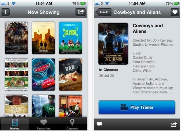 Trailrs, un paseo por Apple Trailers desde iOS