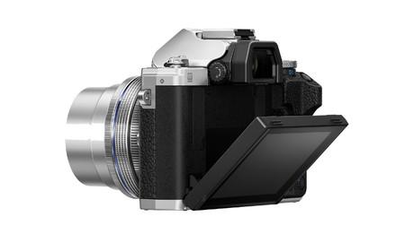 Om D E M10 Mark Iv Silver Backleft3 Ez M1442ez Lcd Hi Product