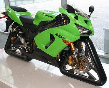 Kawasaki ZX-6R Ninja Geometric
