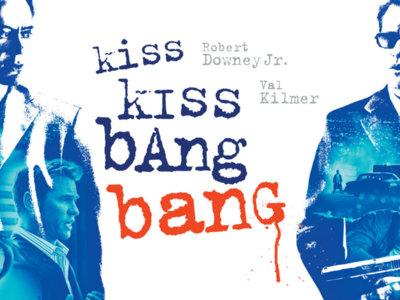 Cine en el salón: 'Kiss Kiss, Bang Bang', con autoridad